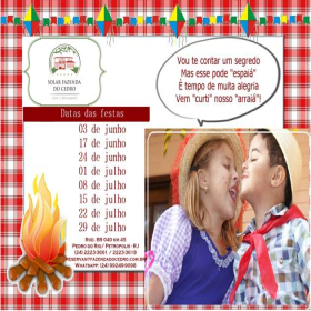 Festa Junina e Julina no Solar Fazenda do Cedro
