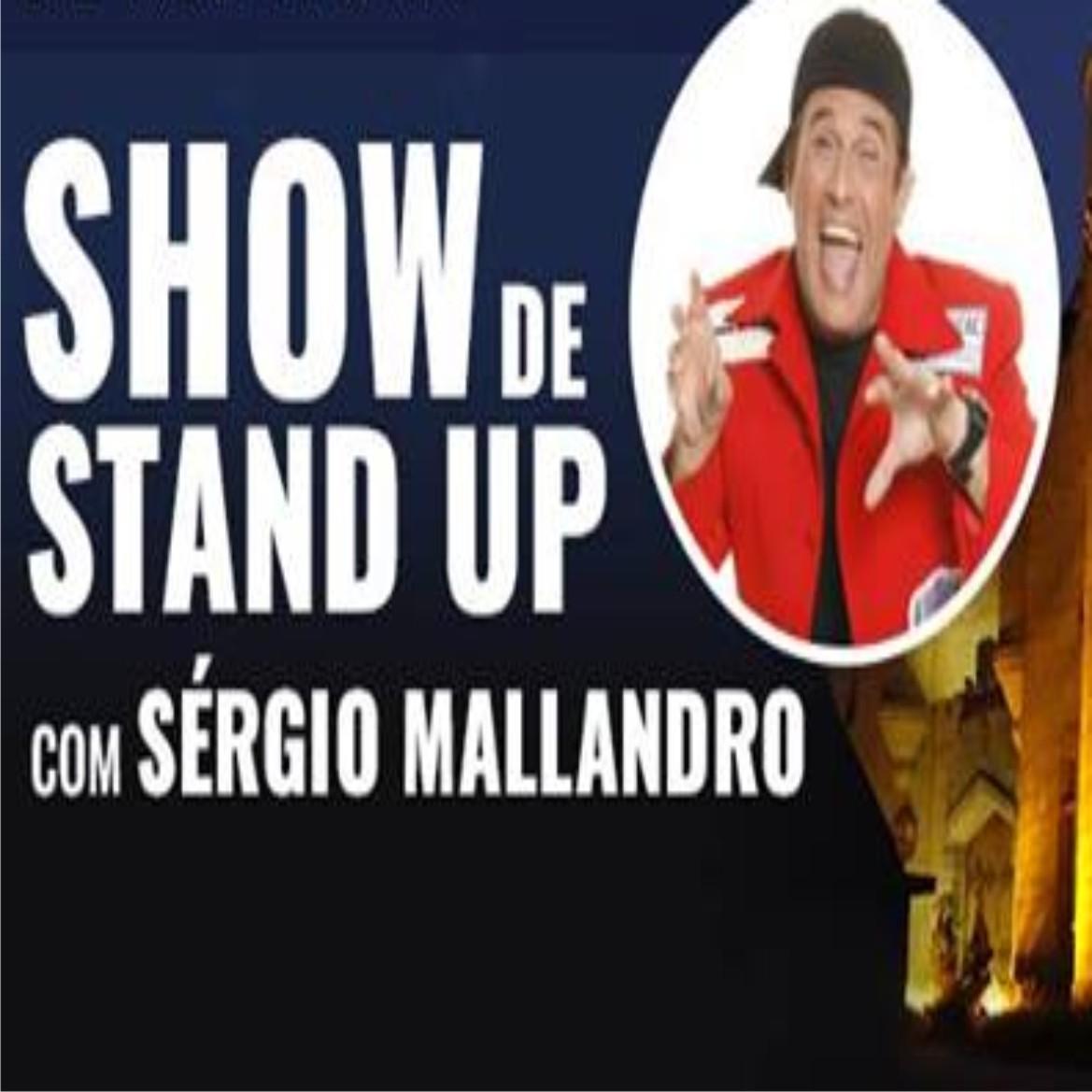 Coquetel de Abertura e Show de Stand Up com S�RGIO MALLANDRO