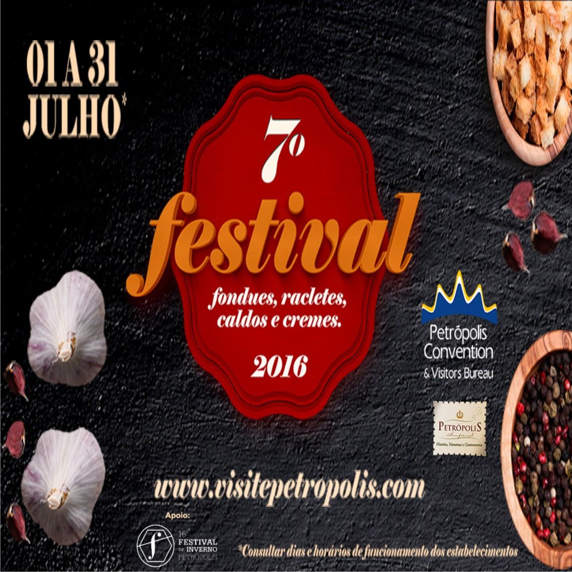 VII Festival de Fondues, Racletes, Caldos e Cremes